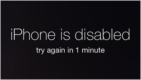 Iphone Bị Vô Hiệu Hóa Mật Khẩu