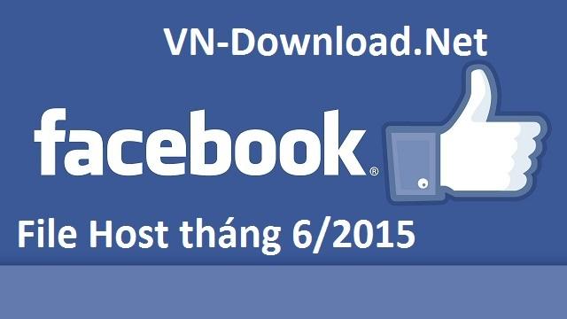 File host vào facebook 6/2015 cập nhật mới nhất
