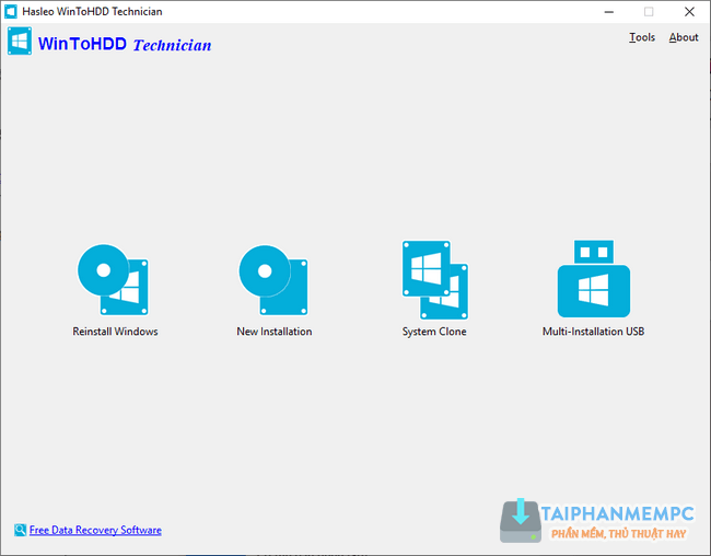 WinToHDD 3.5 Technician