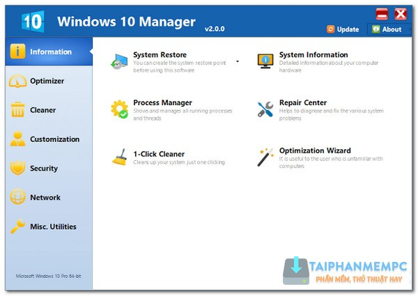 Windows 10 Manager 1