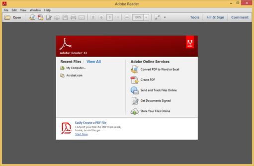 Phần mềm Adobe Reader