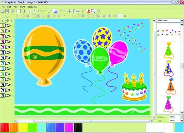 Phần Mềm Crayola Art - Phần Mềm Vẽ Tranh Tuyệt Vời