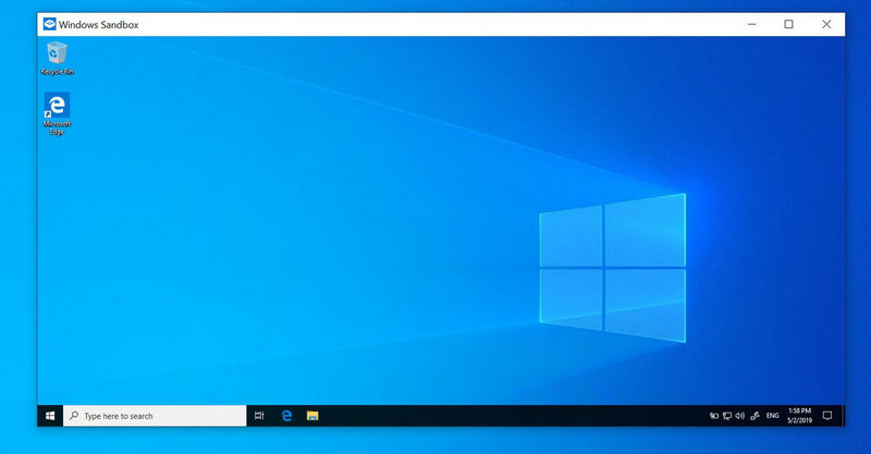 tính năng Sandbox windows 10