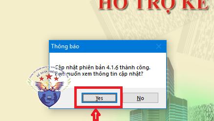 cập nhật phần mềm htkk